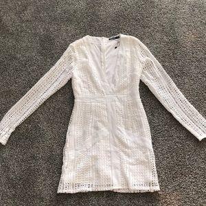 Brand new nasty gal white dress